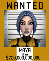 Maya Wanted by Rhalath