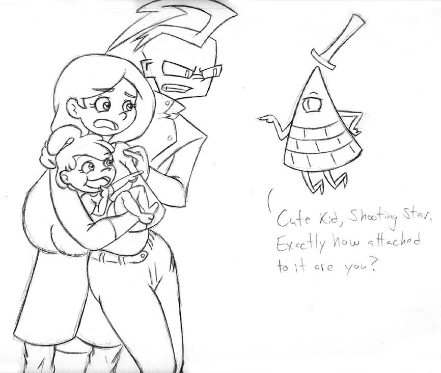 Crossover Kids: Izzy Meets Bill by Invader-Sam