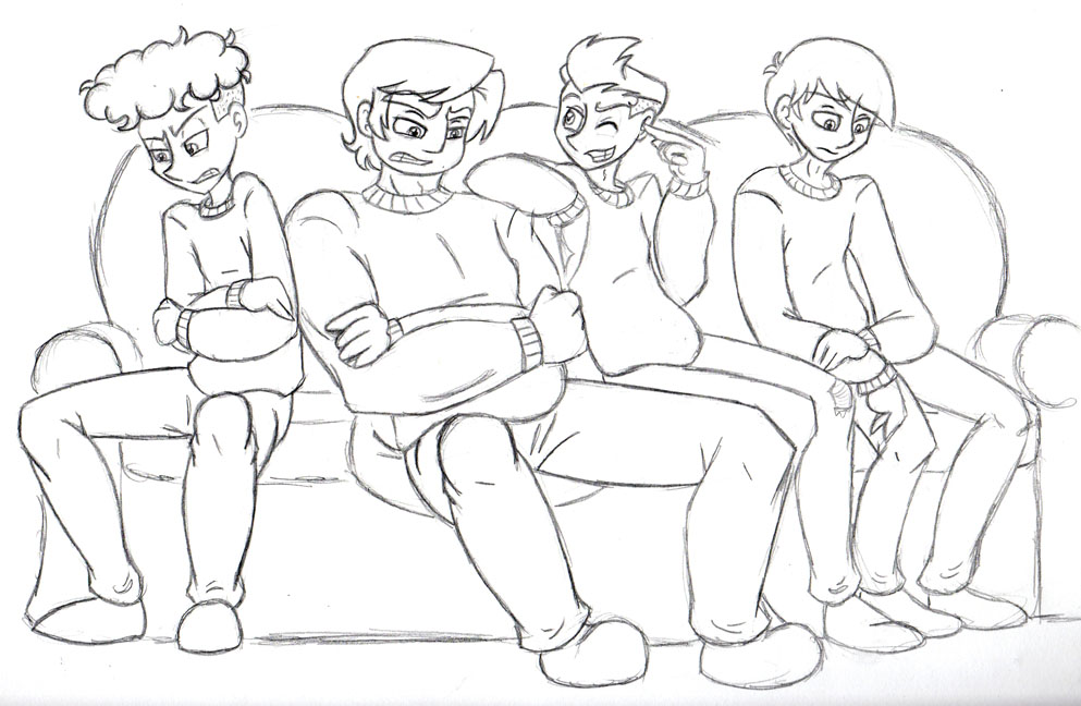 SP: The Boys at Christmas - Age 19 by Invader-Sam