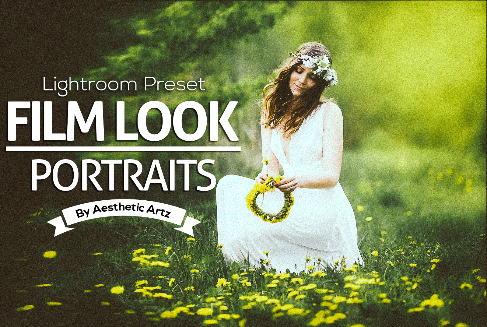 Premium FILM LOOK Portraits Lightroom Preset by