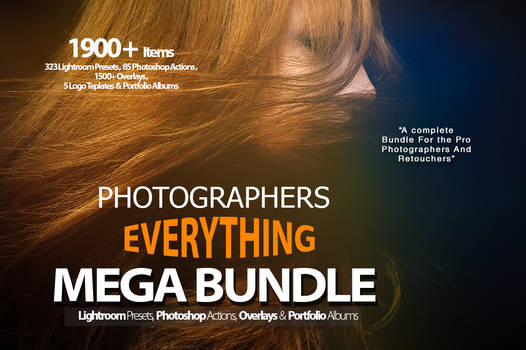Photographers Everything Mega Bundle