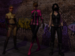 Superheroines by Dracis3D