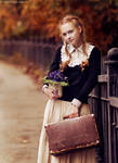 Autumn Town III by Snowfall-lullaby