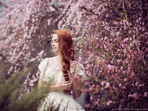 Pink cloud sakura by Snowfall-lullaby