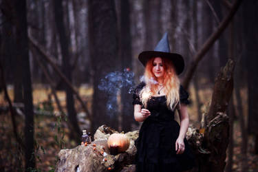 witchy witchy, again by Snowfall-lullaby