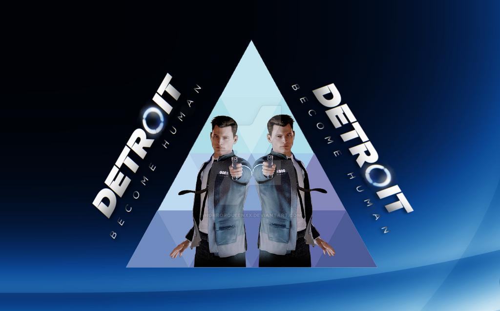 Connor Detroit Become Human Wallpaper: Detroit Become Human, Connor Wallpaper By HorrorQueenXX On