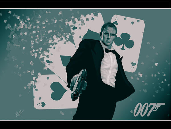 james bond by brahamil
