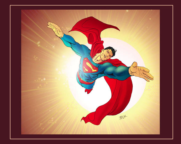 superman by brahamil