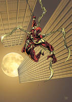 iron spider man by brahamil