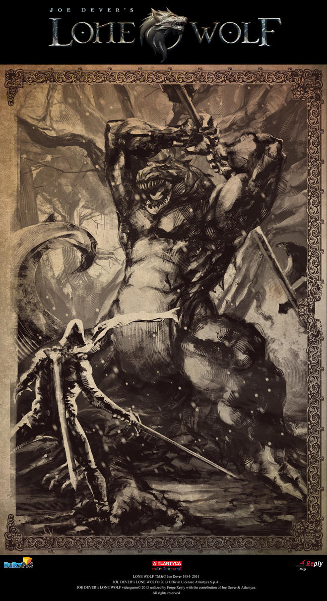 Joe Dever's Lonewolf illustration 09 by brahamil