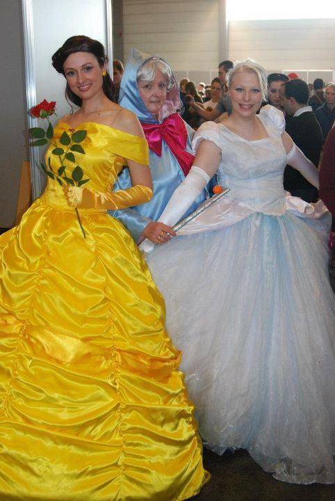 cinderella and belle by mysteriousmaemi on deviantart