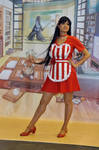 Sailor Mars Waitress
