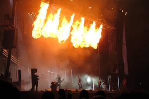 RW Rammstein fire by MysteriousMaemi