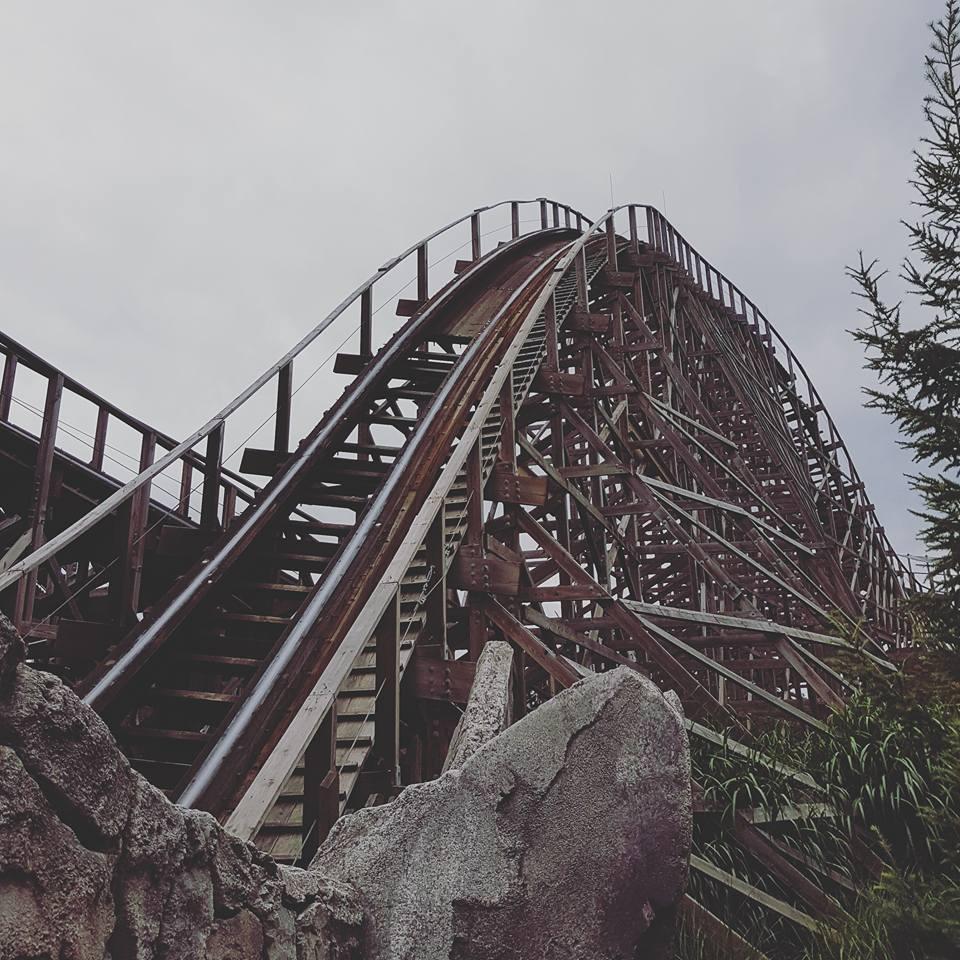 Wodan rollercoaster by MysteriousMaemi