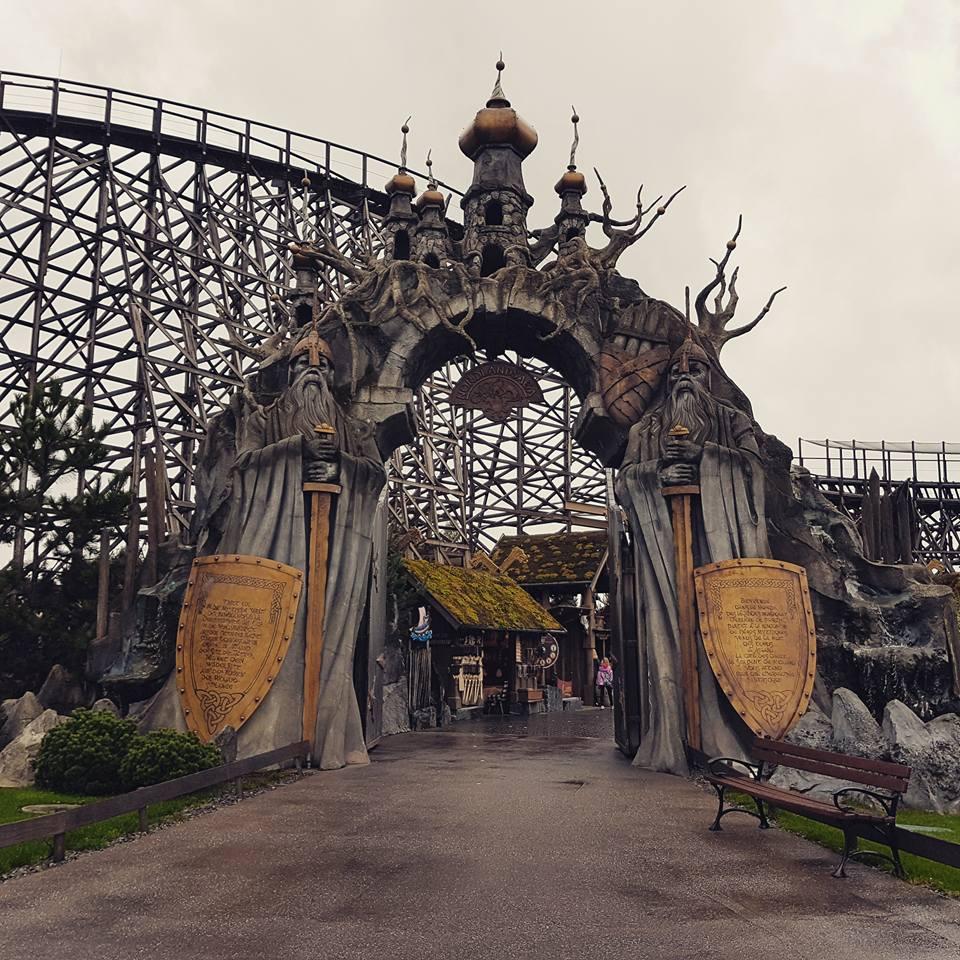 Wodan rollercoaster II by MysteriousMaemi