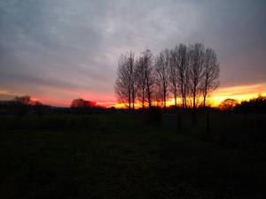 Sunset 1st Dec
