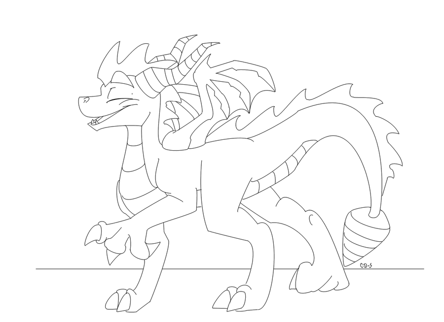 spyro and cynder coloring pages - photo#28