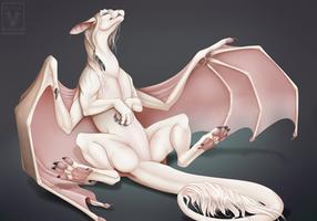 Hungry Birthay Dragon by Minerea