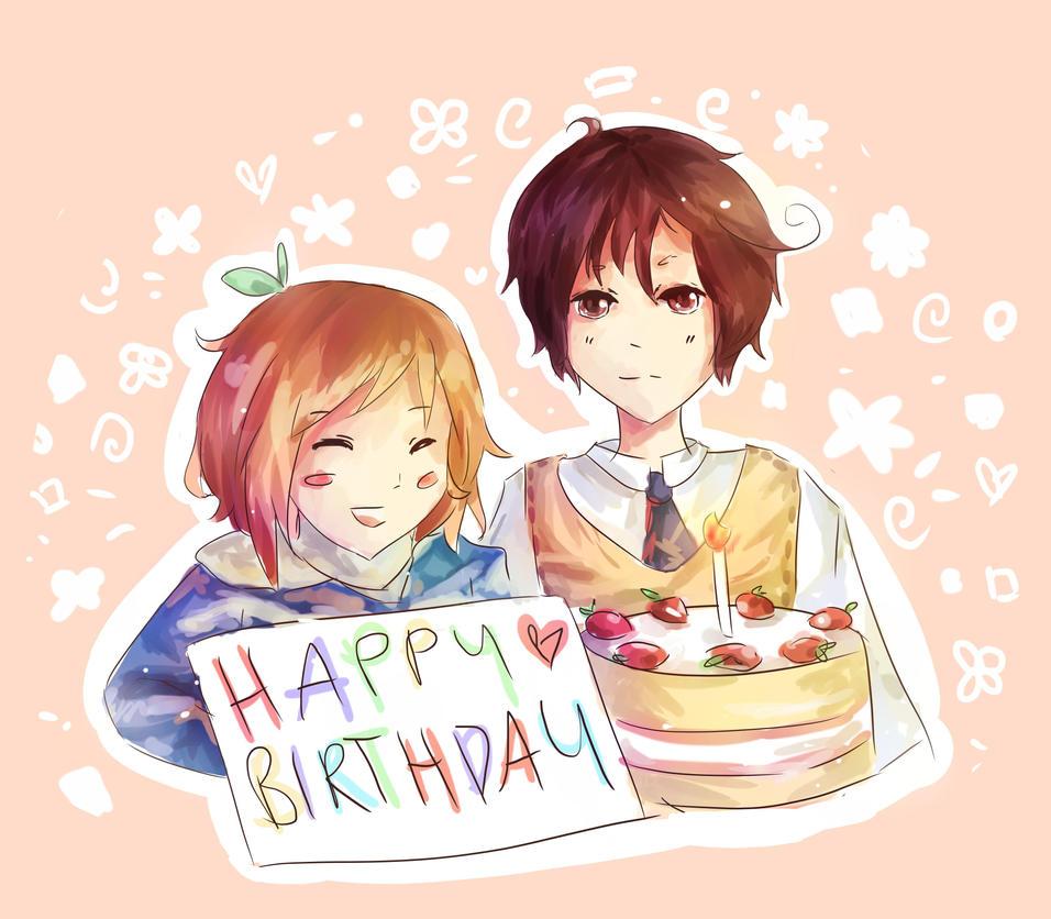 Happy Birthday By OhaiderePanda On DeviantArt