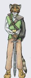 Art Request: Faithful Swordsman by Azkre