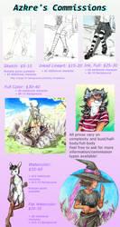 Commission Info by Azkre