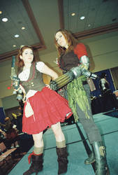 steam punk grils by cresentmoongodess