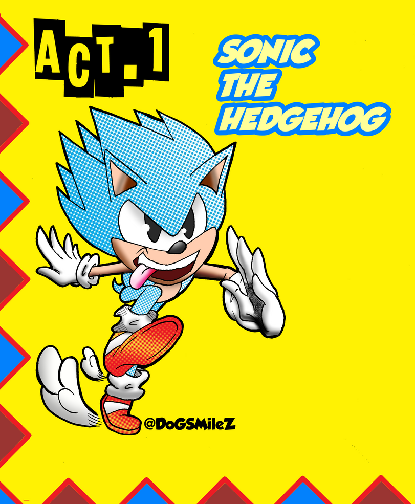 Sonic the Hedgehog (Sonic Mania ) by DogSmilez