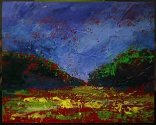 Bright Field by NicDeGrootArt