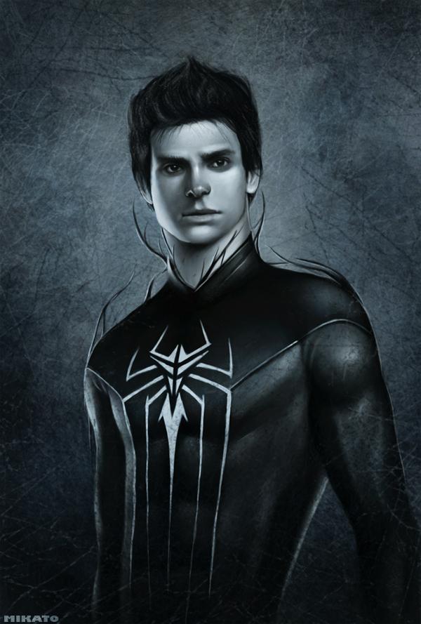 Dark Spider man by NaionMikato