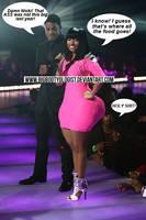 Nicki Minaj Big Butt Comic by BigBootyologist