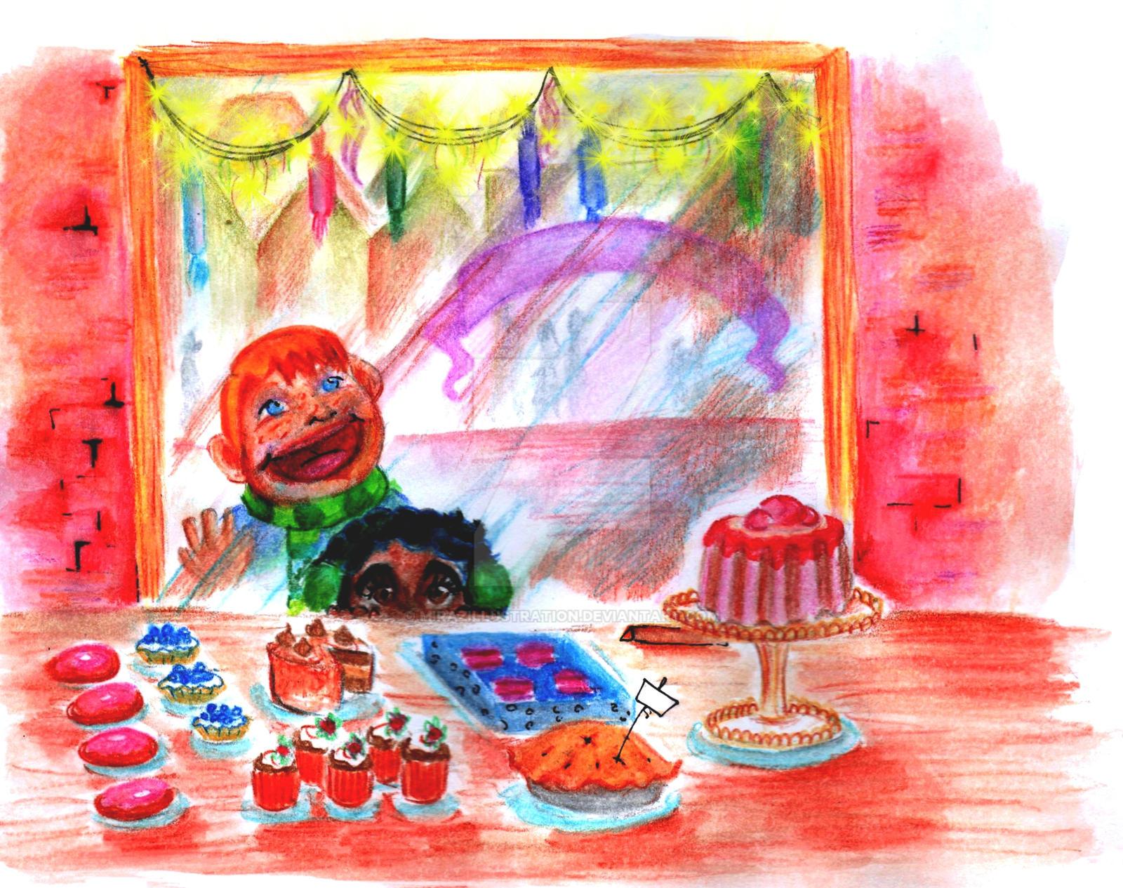 Bakery by MirazIllustration