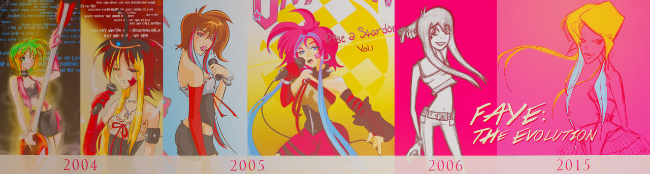 FAYE's Design Evolution 2004-2015