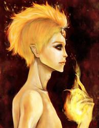 Flame Prince by waywardgal
