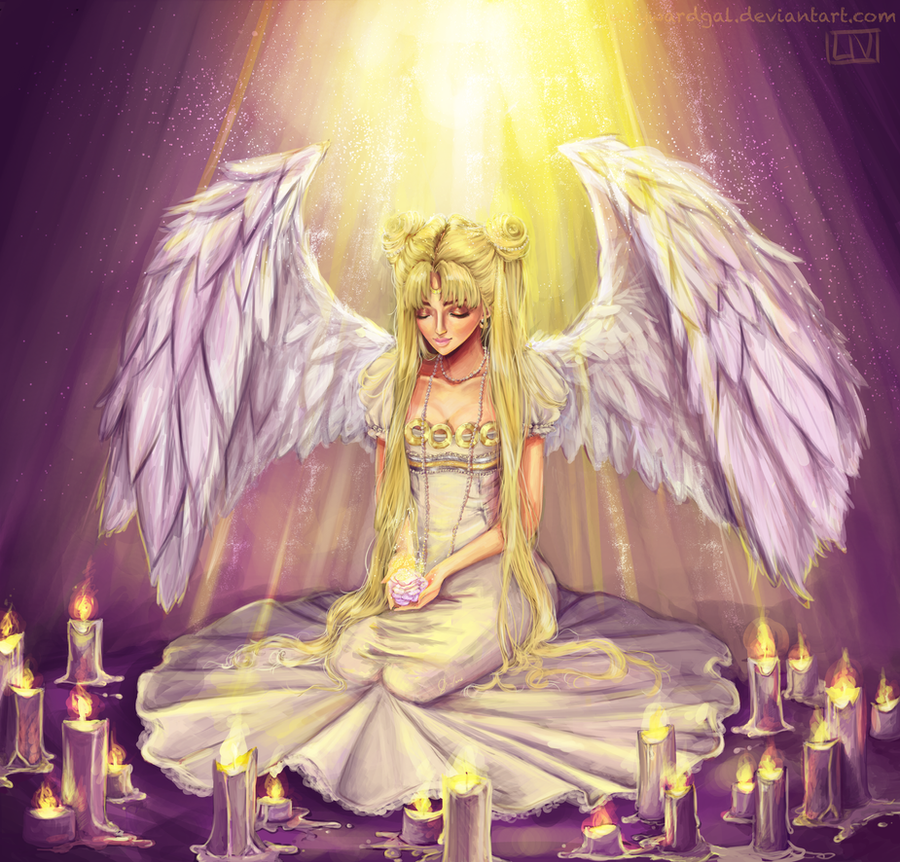 Princess Serenity by waywardgal