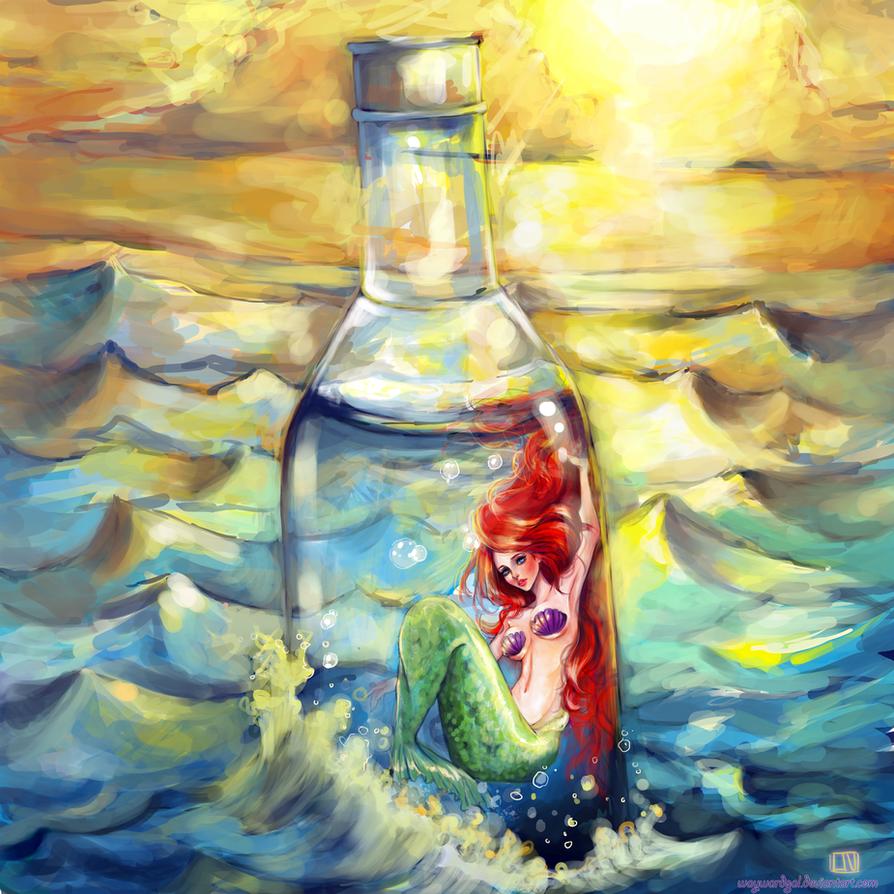 The Little Mermaid by waywardgal