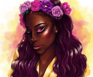 So I drew Jackie Aina by waywardgal
