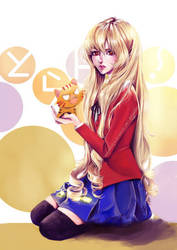 palm top taiga - Toradora by waywardgal