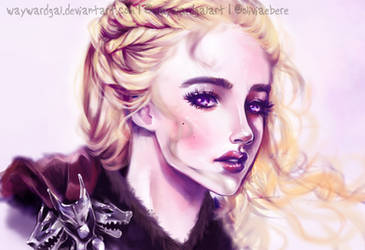 daenerys targaryen, first of her name by waywardgal