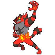 Incineroar sprite by Profkrd