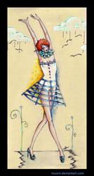 Circus ballerina by Muoni