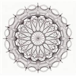 Mandala #1 by imthelatvian