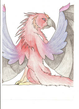 Rising Flame Gryphon