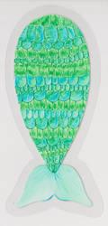 Bookmark Mermaid tail