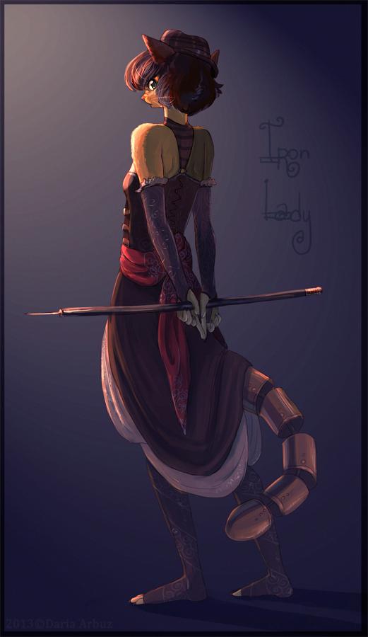 : Iron Lady : by dar-a