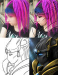 Protoss'd Me - The Process by blue-but-beautiful