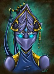 Xelaris Portrait by blue-but-beautiful