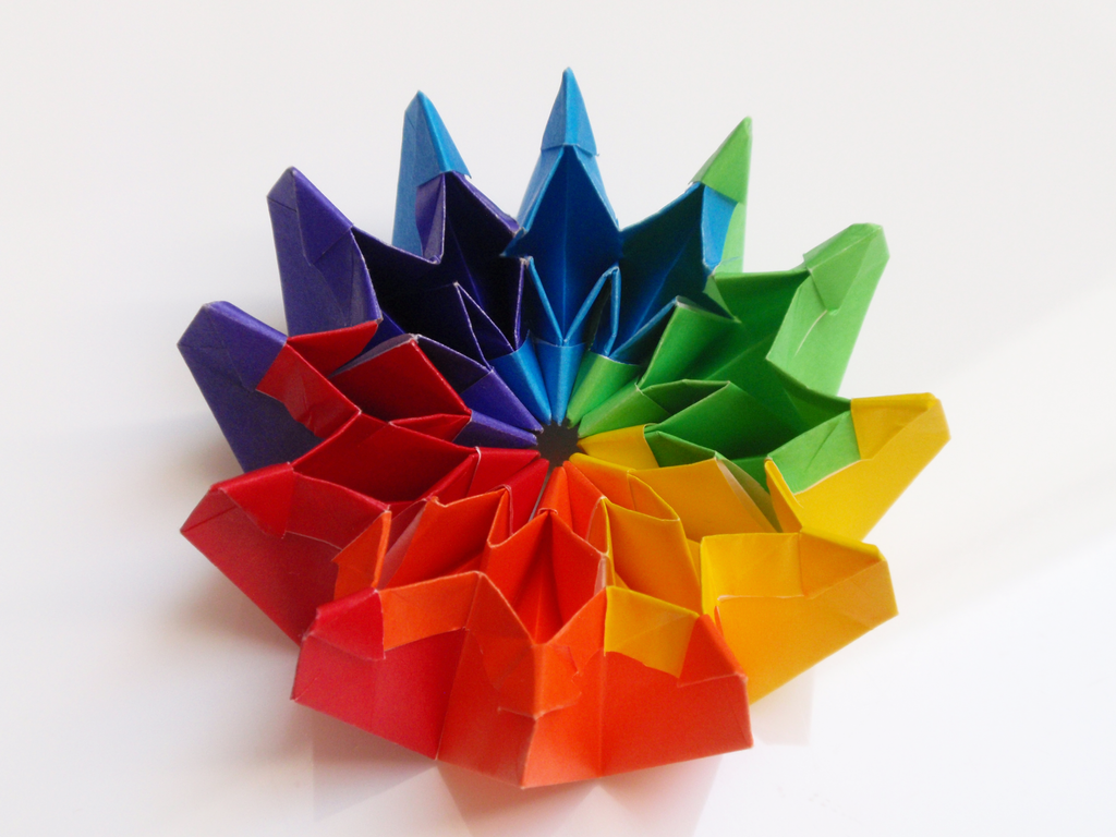 Firework origami by revenia on deviantart firework origami by revenia jeuxipadfo Image collections