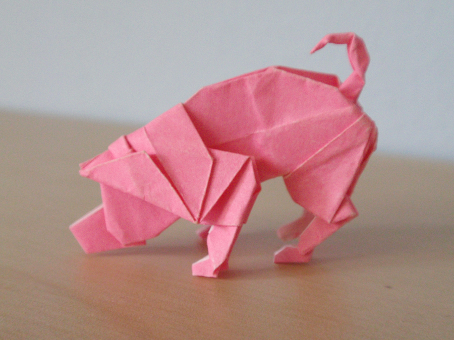 Origami Pig By Revenia On Deviantart