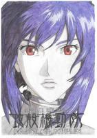 Motoko Kusanagi by Revenia