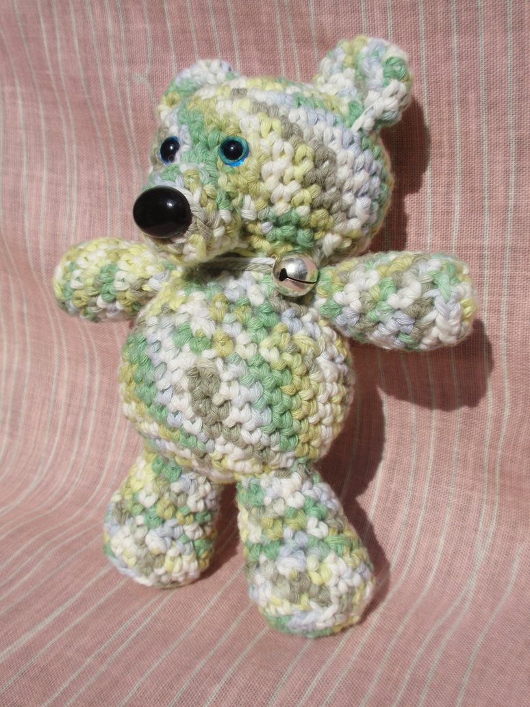 Crochet Teddy Bear by Revenia